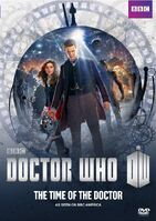 Doctor Who The Time of The Doctor US DVD