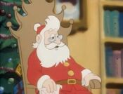 Santa in the Heathcliff cartoon