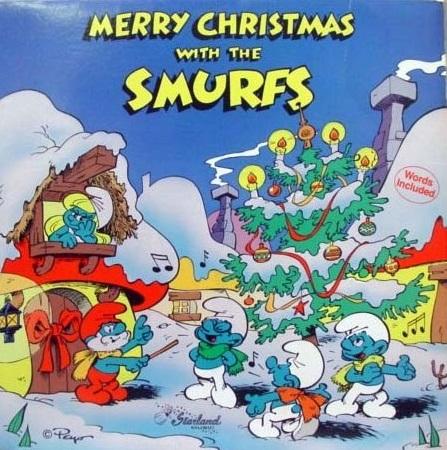 File:Merry Christmas Smurfs.jpg
