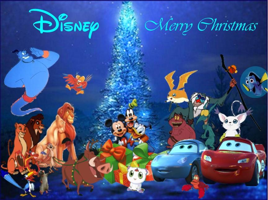 Image - Disney Merry Christmas.jpg | Christmas Specials Wiki ...