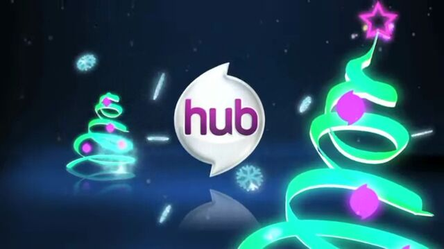 File:The Hub Christmas logo.jpg