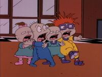 Rugrats scared