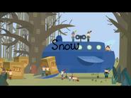 Snow title card