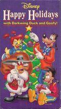 Darkwing and Goof Troop Xmas VHS