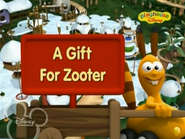 A Gift for Zooter Title