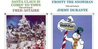 Santa Claus is Coming to Town and Frosty the Snowman