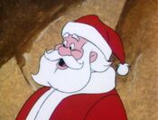 Santa in A Flintstone Christmas