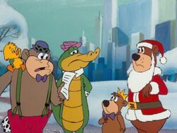 Magilla, Wally and Yakky's cameo