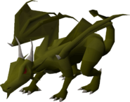 Green Dragon OSRS