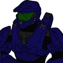 Azubuike in armor