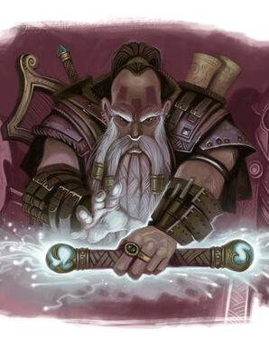 Dwarf-mage