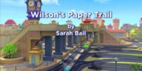 Wilson's Paper Trail