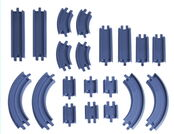 LC54302 STRAIGHT & CURVED TRACK PACK