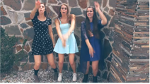 Three Cimorelli Sisters in Problem Music Video Screenshot