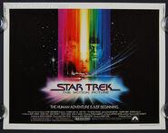 S-0087 Star Trek half sheet movie poster l