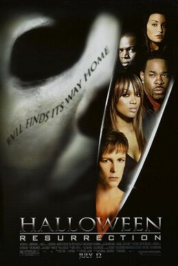 Halloween Resurrection Theatrical Poster 2002