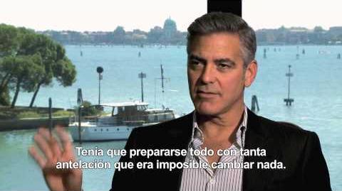 Gravity - Entrevista George Clooney