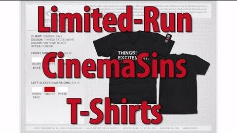 This Video Is About T-Shirts - Limited Run Sin Shirts