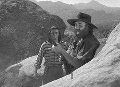 Peter Whitney just before his death in Gunsmoke-The Hunter