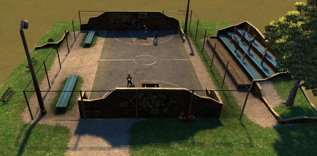 Image basketball cities xl wiki fandom for How wide is a basketball court