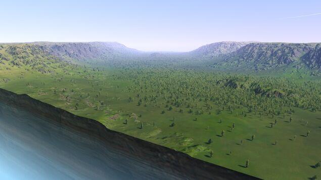 Across - The Green Cut