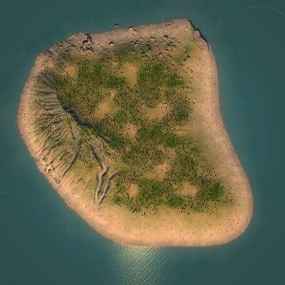 Overhead - The Tropical Island