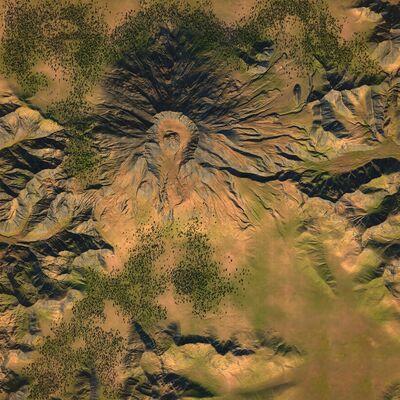 Overhead - Mount St Helens