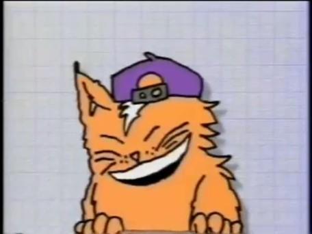 File:Cheesy climbs on screen.jpg