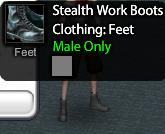 Stelth Work Boots