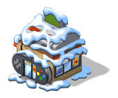 Video Game Store snow