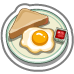 Eggs And Toast-icon