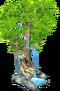 Deco growing tree SW