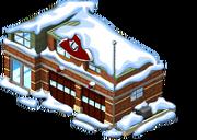 Firehouse snow