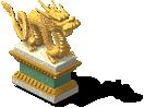 Dragon Statue 3-SE