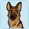 Geoffrey the German Shepherd