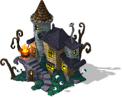 Witch Rickety House-SW