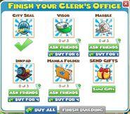 Clerk's office items