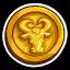 Bulls Commemorative Coin-icon