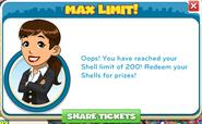 200 shells max limit