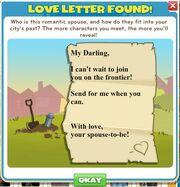 Unlock Love Letter Letter
