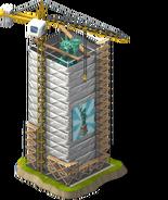 Statue of Liberty Scaffolding