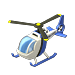 Car policehelicopter ICON