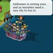 Halloween ship