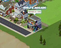 Arcade in cityville