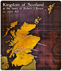 MC Scotland Map