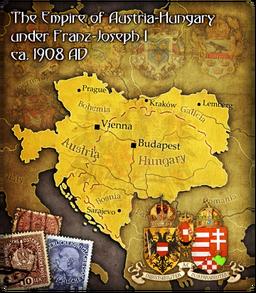 AustriaHungaryMap