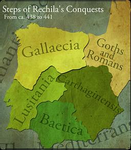 Map suebi