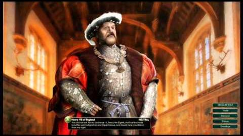 England - Henry VIII Peace