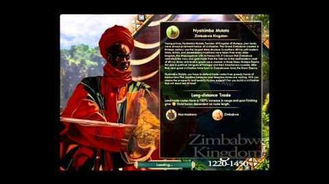 Zimbabwe - Nyatsimba Mutota - War
