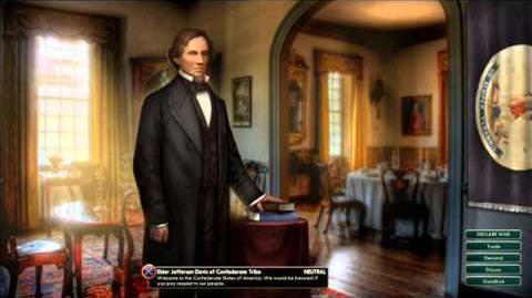 Confederate States - Jefferson Davis War